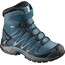 """Salomon Junior Xa Pro 3D Winter TS CSWP Shoes Mallard Blue/Reflecting Pond/Mykono"""